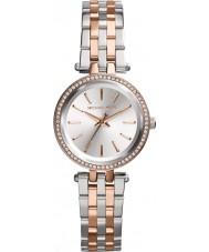 Michael Kors MK3298 Damen Mini Darci Ton zwei Stahl-Armbanduhr