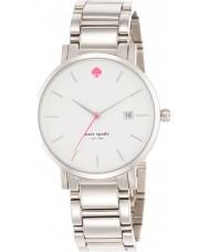 Kate Spade New York 1YRU0008 Damen gramercy großen Silber Stahl-Armbanduhr