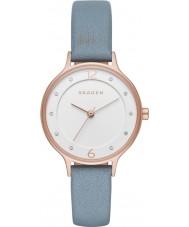 Skagen SKW2497 Damen anita blauen Lederband Uhr