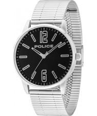 Police 14765JS-02M Herren Esquire Silber Stahl Armbanduhr