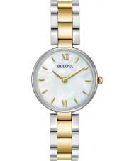 Bulova 98L226 Damen kleiden Gold mit zwei Tönen-Armbanduhr