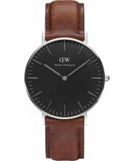 Daniel Wellington DW00100142 Klassisches Schwarz st mawes 36mm Uhr