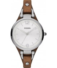 Fossil ES3060 Damen Georgia Brown Uhr