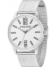 Police 14765JS-04M Herren Esquire Silber Stahl Armbanduhr