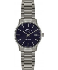 Rotary GB02874-05 Herren-Uhren Rächers blau silberne Uhr