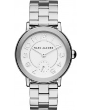 Marc Jacobs MJ3469 Damen riley Silber Stahl Armbanduhr