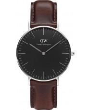 Daniel Wellington DW00100143 Klassische schwarze bristol 36mm Uhr