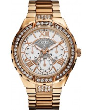 Guess W0111L3 Damen Rotgold Multifunktions-Uhr