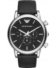 Emporio Armani AR1828 Mens klassische Chronograph schwarz Uhr