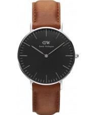 Daniel Wellington DW00100144 Klassische schwarze durham 36mm Uhr
