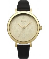 Oasis B1544 Damen schwarzes Lederband Uhr