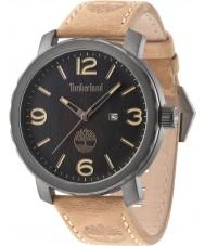 Timberland 14399XSU-02 Mens pinkerton braunes Lederarmband Uhr