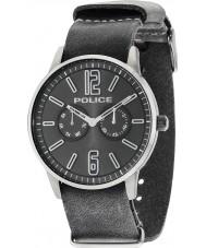 Police 14766JSU-61 Mens esquire x grau Lederband Uhr