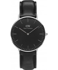 Daniel Wellington DW00100145 Klassische schwarze sheffield 36mm Uhr