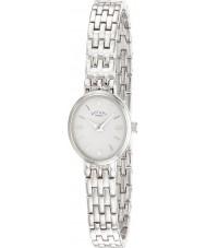 Rotary LB02083-02 Damen Timepieces weiß silberne Uhr