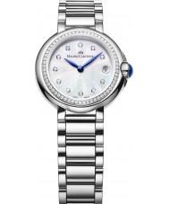 Maurice Lacroix FA1003-SD502-170 Damen fiaba rund silber mit Diamanten Uhren