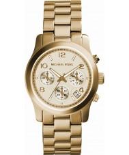 Michael Kors MK5055 Damen Runway Gold Chronograph