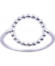 Nordahl Jewellery 125206-54 Damen Rhodiumsilber Ring überzogen - Größe n