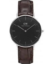 Daniel Wellington DW00100146 Klassisches Schwarz york 36mm Uhr