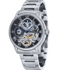 Thomas Earnshaw ES-8006-11 Mens Länge Silberarmband Automatik-Uhr