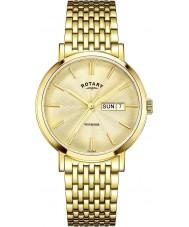 Rotary GB05303-03 Herren-Uhren windsor vergoldete Uhr