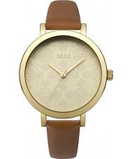 Oasis B1545 Damen tan Lederband Uhr