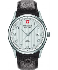 Swiss Military 6-4286-04-001 Mens Navalus braunes Lederarmband Uhr