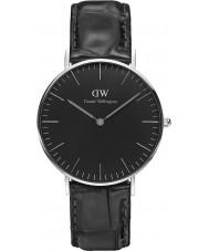 Daniel Wellington DW00100147 Klassische schwarze Lese 36mm Uhr