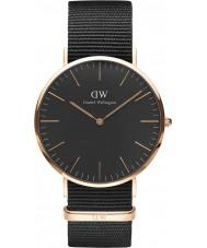 Daniel Wellington DW00100148 Klassische schwarze cornwall 40mm Uhr