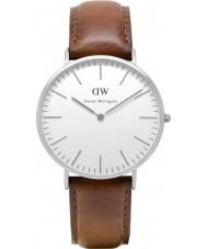 Daniel Wellington DW00100021 Mens klassische 40mm st mawes silberne Uhr