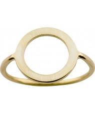 Nordahl Jewellery 125211-58 Damen Gold vergoldete Ring - Größe q