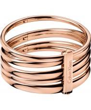 Calvin Klein KJ2GPD10010S Damen stieg kostbares Gold Armreif