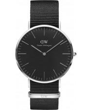 Daniel Wellington DW00100149 Klassische schwarze cornwall 40mm Uhr