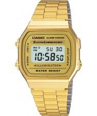 Casio A168WG-9EF Sammlung klassischen vergoldeten Digitaluhr