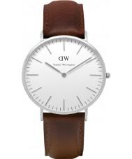 Daniel Wellington DW00100023 Mens klassische 40mm bristol silberne Uhr