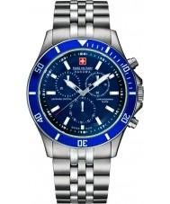 Swiss Military 6-5183-7-04-003 Mens Flaggschiff chrono silberne Uhr