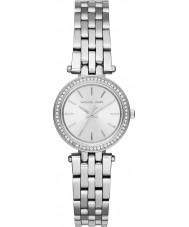 Michael Kors MK3294 Damen Mini Darci Silber Stahl Armbanduhr