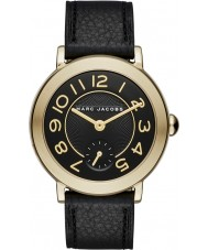 Marc Jacobs MJ1471 Damen riley schwarzes Lederband Uhr