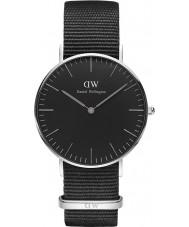 Daniel Wellington DW00100151 Klassische schwarze cornwall 36mm Uhr