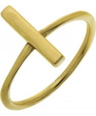 Nordahl Jewellery 125225-52 Damen Gold vergoldet Stiftring - Größe L