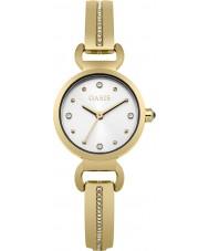 Oasis B1573 Damen Gold-Legierung Armbanduhr