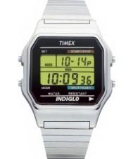 Timex T78587 Mens Silber klassische digitale Chronograph