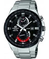 Casio EFR-542DB-1AVUEF Mens Gebäude Weltzeit silberne Uhr
