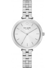 Kate Spade New York 1YRU0859 Damen holland Silber Stahl Armbanduhr