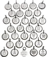 Edblad 116130237-W Charmentity w Silber Stahl kleinen Anhänger