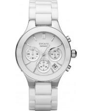 DKNY NY4912 Damen Kammern weiße Keramik-Armband-Uhr