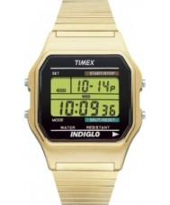 Timex T78677 Mens Gold klassische digitale Chronograph