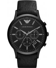 Emporio Armani AR2461 Mens klassische Chronograph schwarz Uhr
