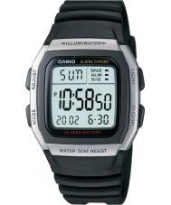 Casio W-96H-1AVES Sammlung Alarm Chronograph