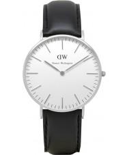 Daniel Wellington DW00100053 Damen klassische sheffield 36mm silberne Uhr